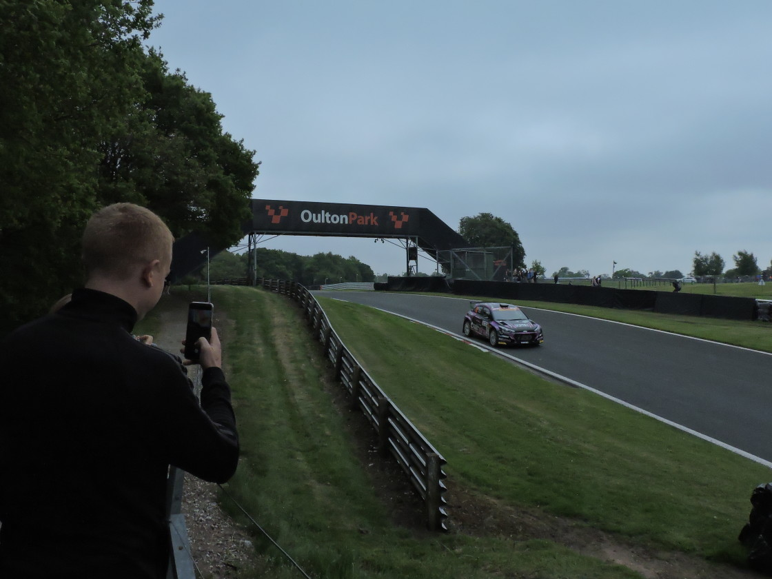 """""""Oulton Park Race Circuit, Neil Howard Stages, May 31st 2021"""" stock image"""