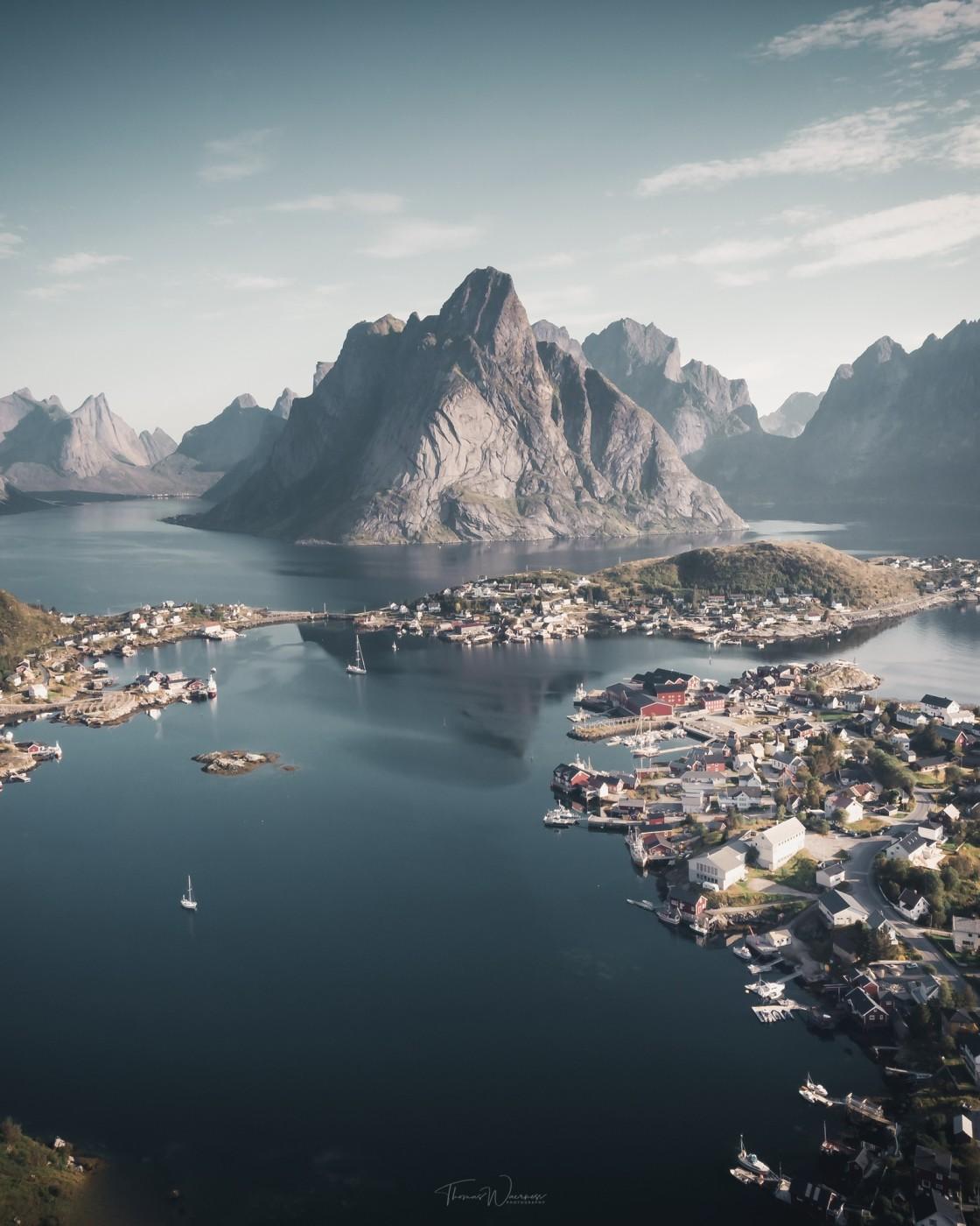 """Lofoten Islands, Norway. Photo by Thomas Waerness"" stock image"
