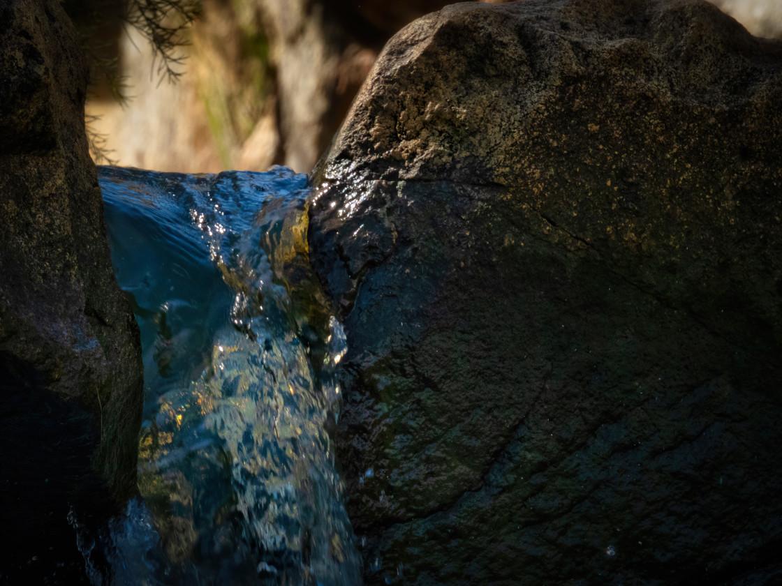 """Creek Crevice"" stock image"