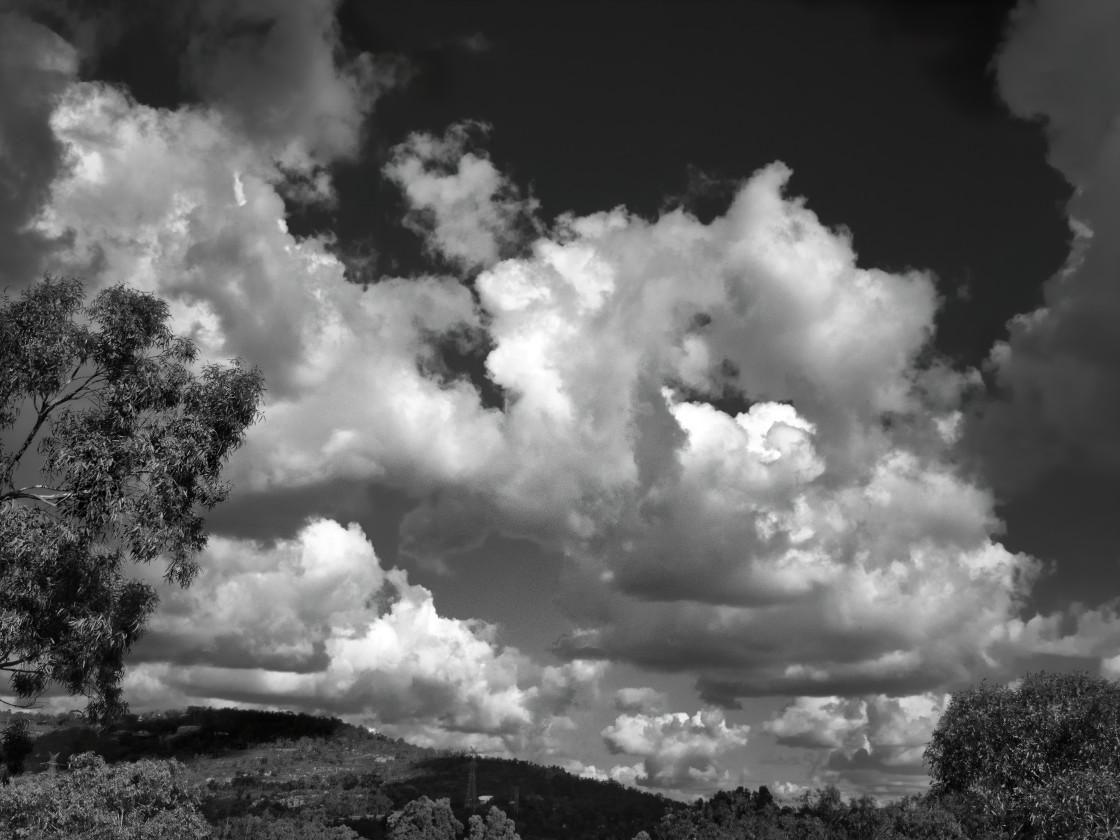 """""""Perth Hills Cloudscape"""" stock image"""