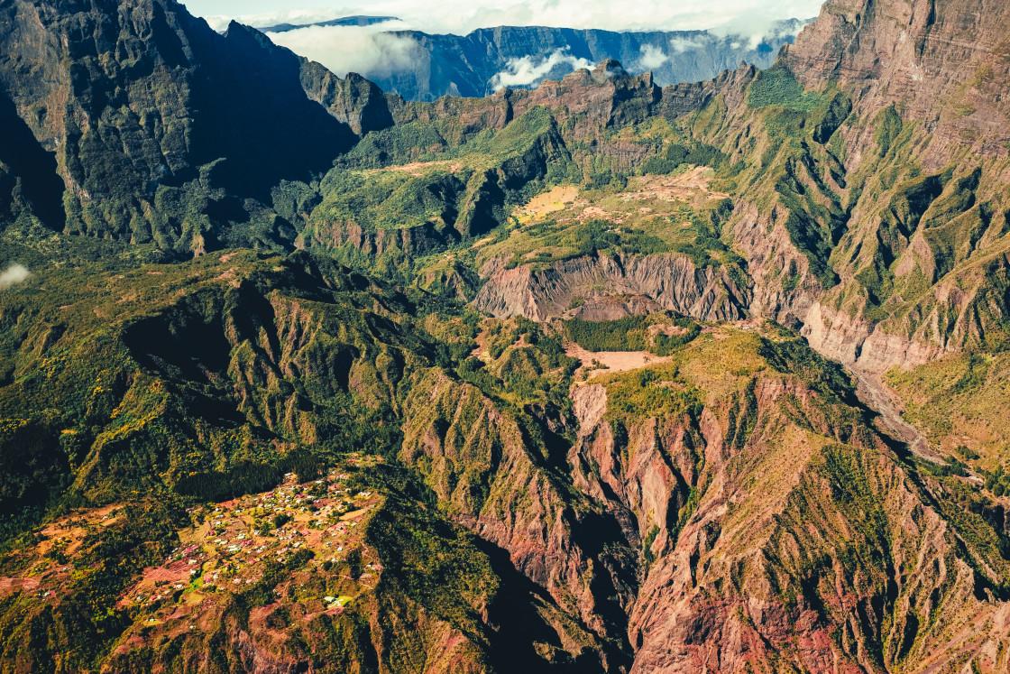 """""""La Réunion, France"""" stock image"""