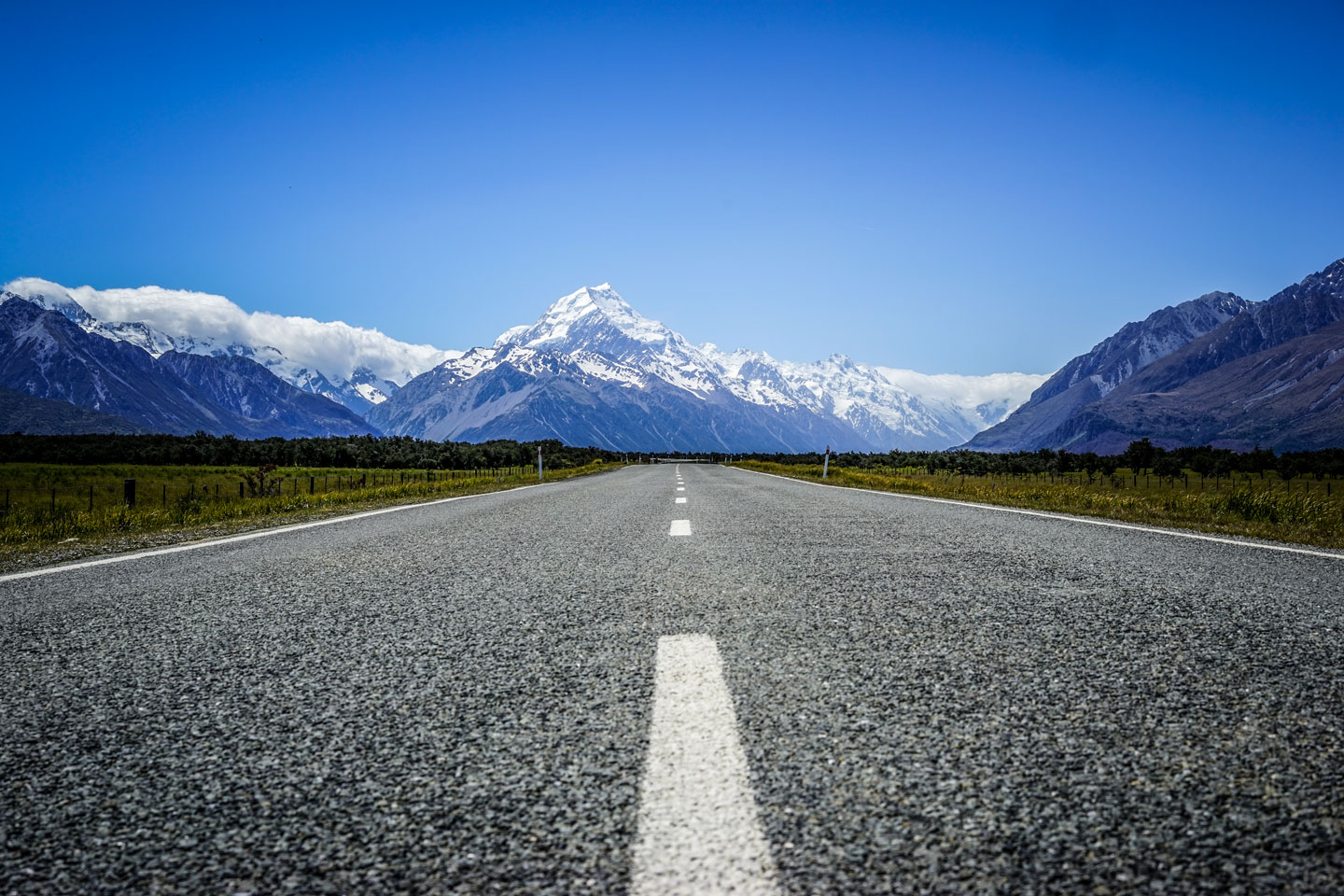 Mount Cook Road - NZ
