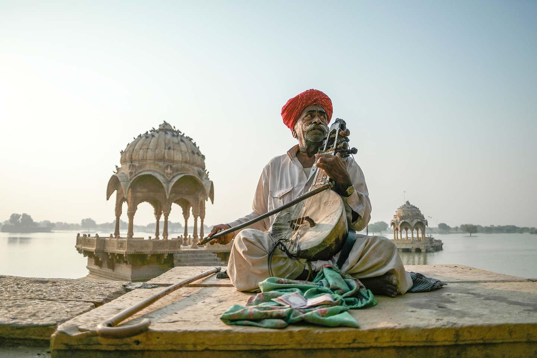 Jaisalmer Traditional Musician