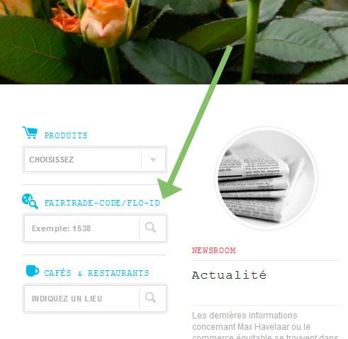 Webseite Max Havelaar