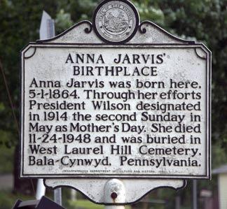 Grab von Anna Jarvis