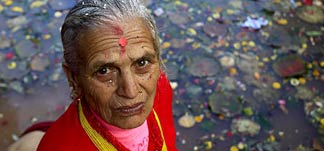 Mutter in Nepal