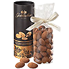 Fine cocoa almonds