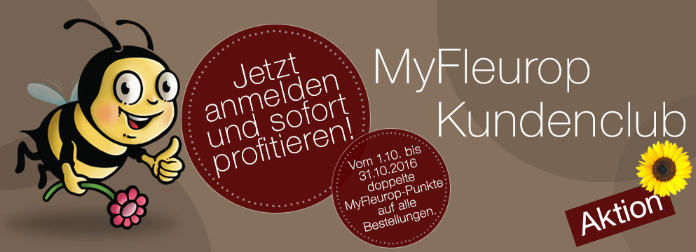 MyFleurop Aktion Oktober