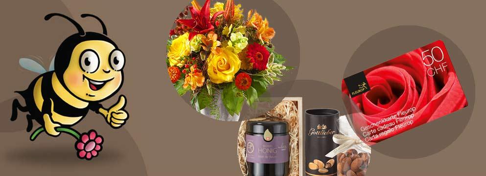 Fleurop-Geschenkkarte online bestellen: