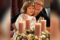 Advent mit der Famile