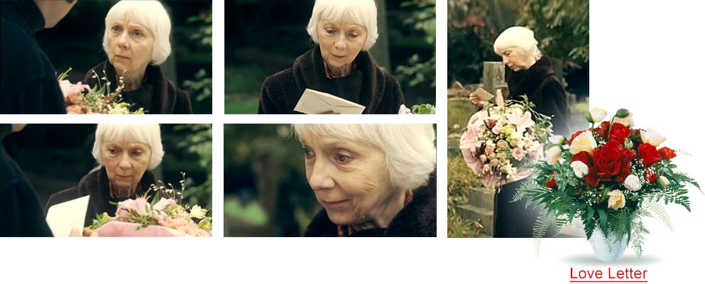 Preisgekrönter Fleurop Kinospot, Blumen bestellen