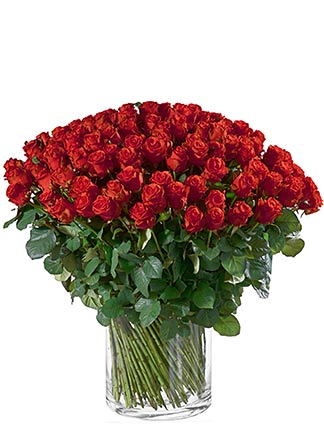 Valentinstag Rosenstrauss bestellen