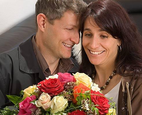 Liebespaar Valentinstag