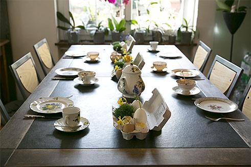 Tisch-Deko für Ostern