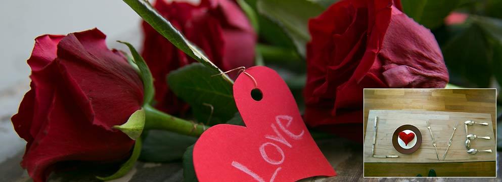 Liebeserklärung aus Besteck