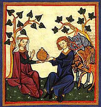 Efeu im Mittelalter