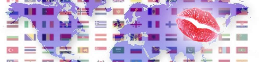 Ein Schmatz für den Schatz in 34 Sprachen