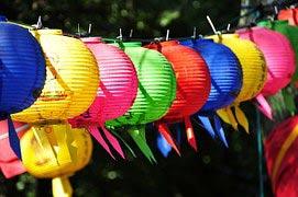 Lampione für Gartenparty