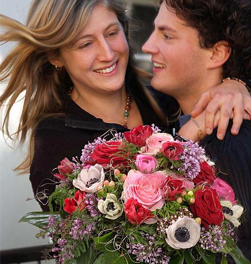 Valentinstag Liebespaar