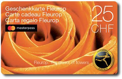 Fleurop Geschenkkarte mit Masterpass