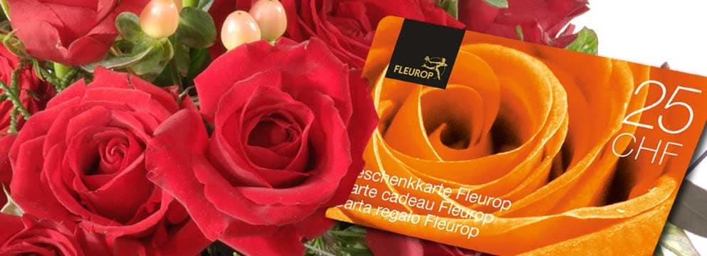 Cartes Cadeaux Fleurop