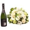 Media 1 - White bouquet with Cava