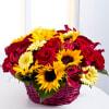 Media 1 - Flower Arrangement in Basket