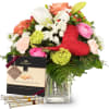 Media 1 - Mother's Day Bouquet with Gottlieber Hüppen and hanging gift tag «Thank You»
