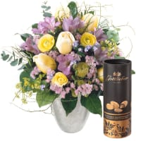 Tender Spring Greetings with Gottlieber cocoa almonds