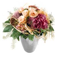Romantischer Hortensienstrauss