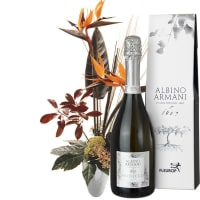 Birds of Paradise, with Prosecco Albino Armani DOC (75cl)