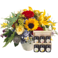 Happy Day with honey gift set