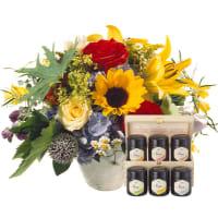 Happy Day avec coffret cadeau de miel