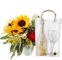Sommer-Hit mit WHITE Secco Cool Bag (75cl) und 2 Gläser