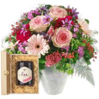 Märchen in Rosa mit Schweizer Blütenhonig