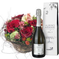 For my Darling, with Prosecco Albino Armani DOC (75cl)