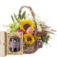 Ein Korb voll Sommer mit Schweizer Blütenhonig