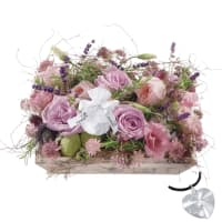 Fragrant Jewel Box, with Swarovski® crystal heart