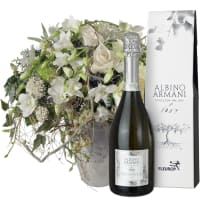 New Year`s Bouquet with Prosecco Albino Armani DOC (75cl)