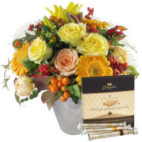 "November Bouquet of the Month with Gottlieber Hüppen ""Special Edition for Fleurop"""