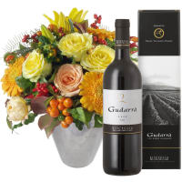 Southern Sun with Red Wine Gudarrà - Aglianico del Vulture (75 cl)