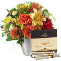 "September Bouquet of the Month with Gottlieber Hüppen ""Special Edition for Fleurop"""
