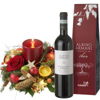 Candle Celebration with Ripasso Albino Armani DOC (75cl)
