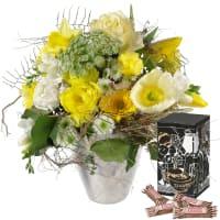 Spring Sunrays with Minor Split in trendy gift tin