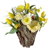 Natürlicher Frühlingszauber (gesteckt)