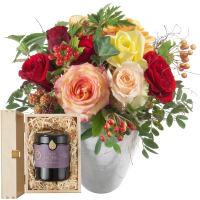 Rosenzauber mit Schweizer Blütenhonig