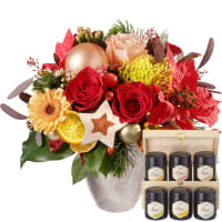 Christmas Gift with honey gift set