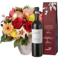 Weihnachtsgeschenk mit Ripasso Albino Armani DOC (75cl)