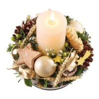 Shining Stars, candle arrangement