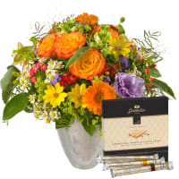 "Mixed Bouquet with Gottlieber Hüppen ""Special Edition for Fleurop"""